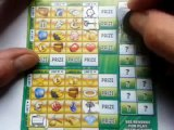 """BIG WIN...Win..Win..Win..on One Card 'Scratchcard """"Final Game"""" Dog & Bone"""" Money Lines"""" .."""