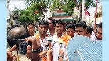 Members of Hindu organizations taken into custody for burning Pakistan's flag in Tamil Nadu !