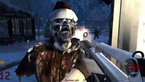 Racist Zombies! FUNNY MOMENTS- Racist Comments, Christmas, Osama's Gun  (COD: WAW)