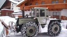 MB-trac 1500 schneeräumen - MB-trac 1500 snow removal - MB-trac 1500 sneeuwruimen