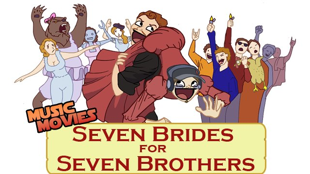 Music Movies - Seven Brides for Seven Brothers