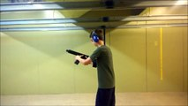 "TanCom's X15 Pistol ""Shorty"" 7.5 in. Barrel w/ ArmBrace || Georgia Indoor Machine Gun Shooting Range"