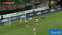 Keisuke Honda Goal AC Milan 1 - 0 Perugia Coppa Italia 17-8-2015