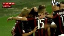Keisuke Honda Score A Goal | AC Milan 1-0 AC Perugia 17.08.2015 HD