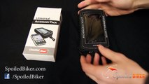 Motorcycle Tank Bag Phone Case:  Soft Magnetic Pouch Holds Your Phone Nicely On Motorcycle Tank