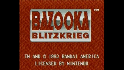 Just a Moment with Bazooka Blitzkrieg (SNES)