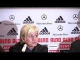Pressekonferenz Deutschland-USA, 29.10.09 mit Pia Sundhage und Silvia Neid