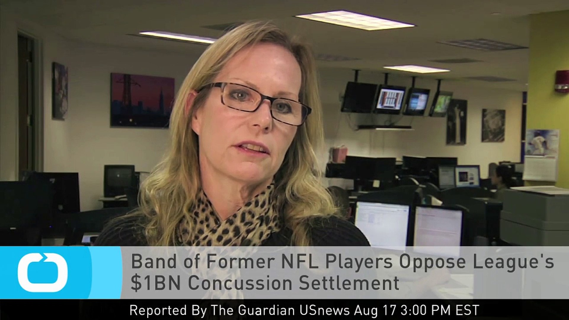 Band of Former NFL Players Oppose League's $1BN Concussion Settlement