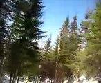 gen ski le sous-bois les ruisseaux au Valinouët