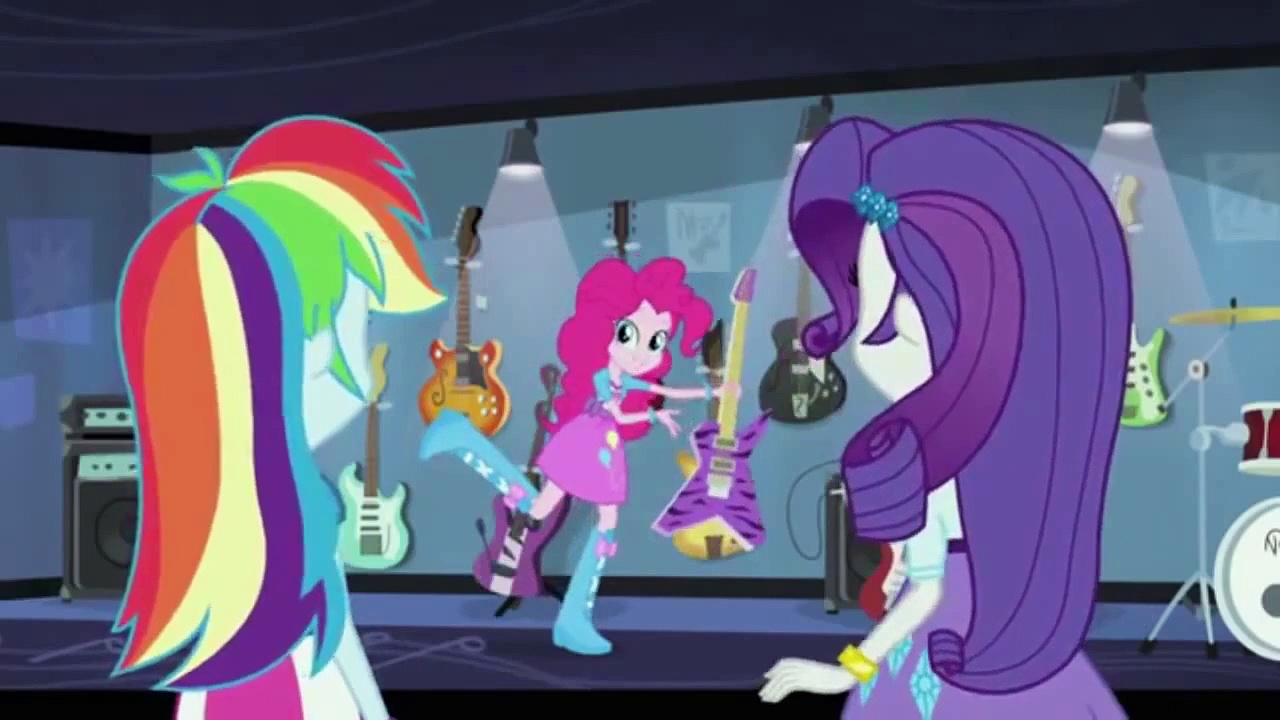 Guitar Centered {MLP Rainbow Rocks Exclusive Clip}