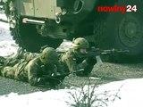 Manewry wojskowe na poligonie w Nowej Dębie