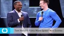 Tom Holland Films More Spider-Man Scenes