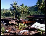 Raw Pic Tsunami in  Samoa Sep 29 100s Dead and 100s pulled out to sea