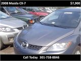 2008 Mazda CX-7 Used Cars Washington DC