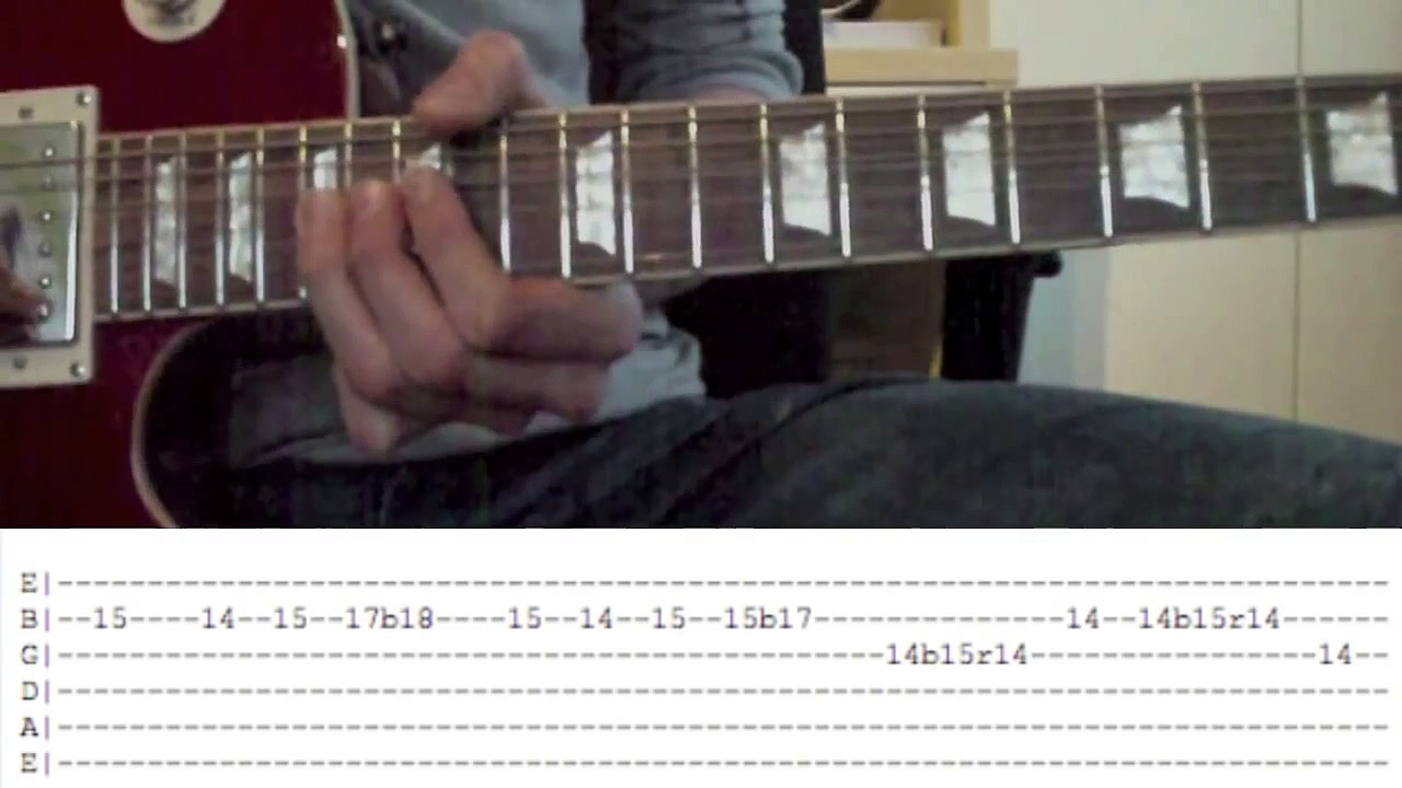 Slash – Godfather Theme Guitar Lesson With Tabs – Guitar Lesson