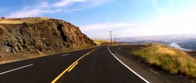 Driving down Old Spiral Highway, Lewiston, ID (4X normal speed)