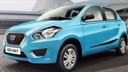 Datsun GO NXT Launched in India at Rs 4. 09 lakh
