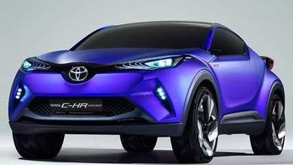Toyota C-HR Concept Based Compact SUV Come to India?
