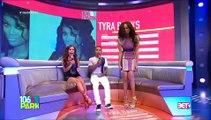 Bow Wow & Erica Mena Kiss - Bow Wow & Tyra Banks Kiss 106 & Park