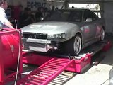 Perth Auto Salon R-34 JUN Skyline Dyno Run