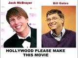 Bill Gates & Jack McBrayer