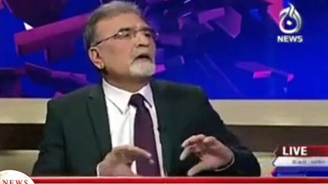 Nusrat Javed Explains How Imran Khan Would Have Benefitted If Reham Khan Had Won Election in Haripur