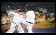 Karate kyokushin fights kumite
