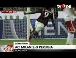 AC Milan Bungkam Perugia 2-0 di Ajang Coppa Italia