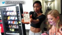 Magic Card Trick Kissing Prank - Kissing Girls Prank in Public - EPIC Girls  Kissing Prank