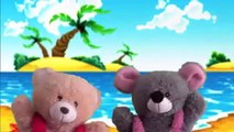 Numbers Song Puppets Show | The Numbers Song | Puppet Show For Children | Teddy Bear Cartoon Rhymes.