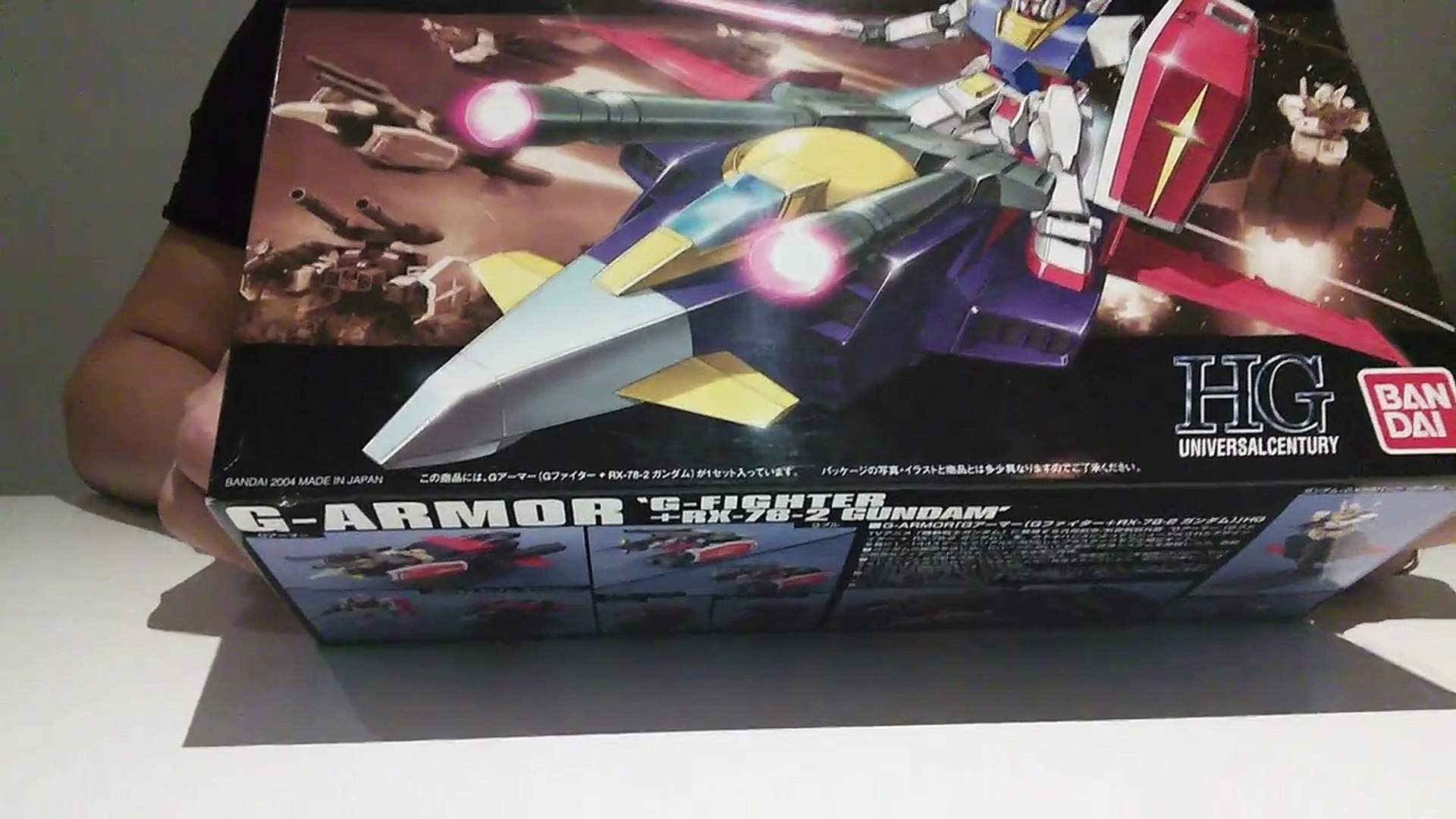 G-Armor 'G-Fighter + RX-78-2 Gundam' E.F.S.F. Prototype Supporting Fighter  Unboxing Revie