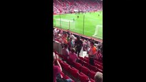Romelu Lukaku Goes Into Stands And Apologises To Fan He Hit With Shot