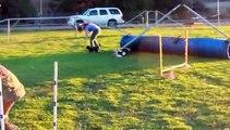 Hayden's Agility Practice! Dachshund Agility