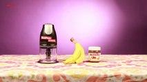 Muz ve Nutella'dan Yapılabilecek Eşsiz Lezzete Sahip Dondurma