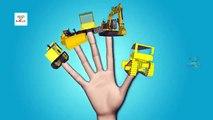 JCB Monster Trucks For Children - Jcb Finger Family  - 3D Jcb Finger FamilyKids Nursery Rhymes