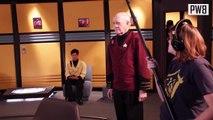 John Carrigan On Set - Star Trek Renegades