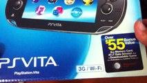 Playstation Vita US 3G/Wi-Fi Version - Unboxing (Brasil)