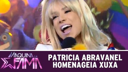 Patricia Abravanel homenageia Xuxa Meneghel