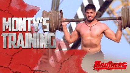 Monty's Training | Brothers Behind The Scenes | Sidharth Malhotra & Jackie Shroff