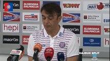 Burić nakon utakmice Hajduk - Koper
