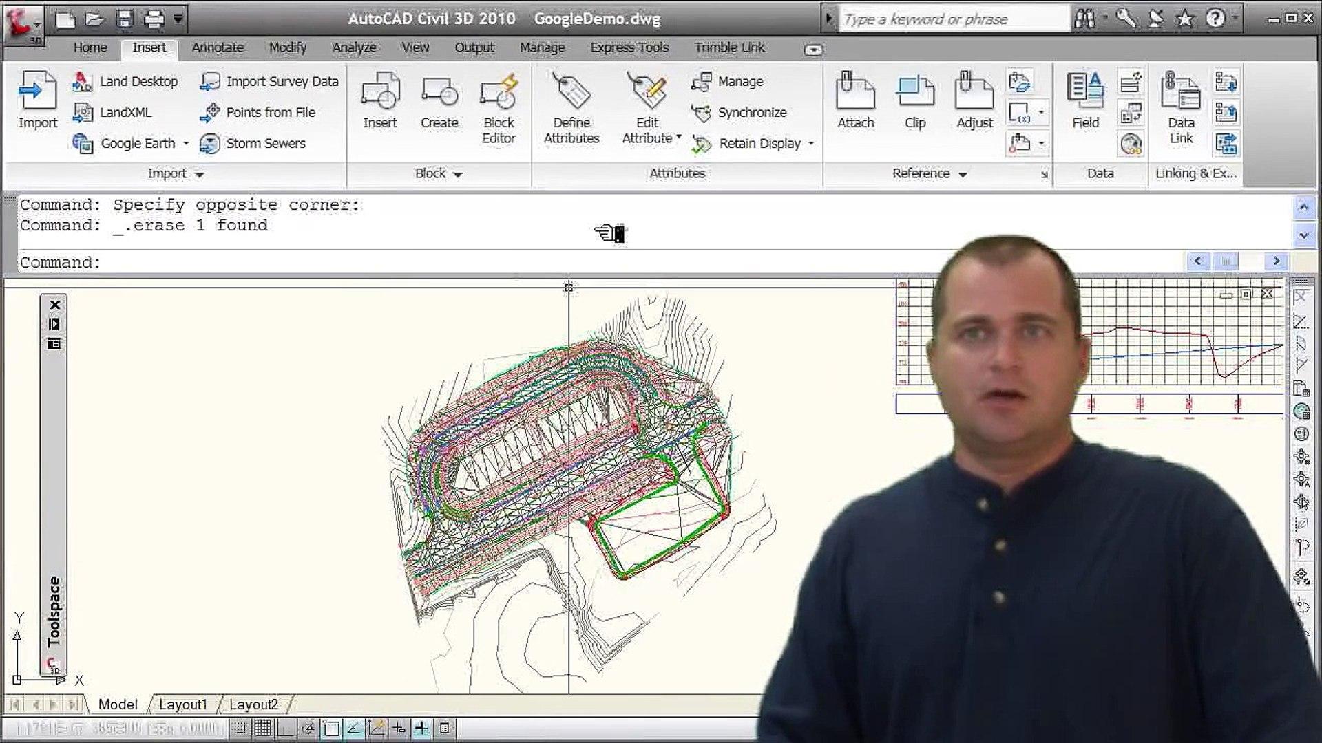 Sharing Civil 3D Model in Google Earth