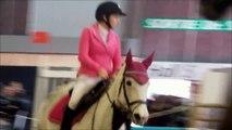 Andréa & Etoile - Salon du cheval 2013 - 1er parcours