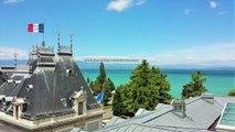 À vendre Evian appartement T6 hyper centre dernier étage agence immobilière Evian DE CORDIER IMMOBILIER