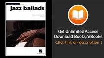 Jazz Ballads Jazz Piano Solos Series Volume 10  PDF