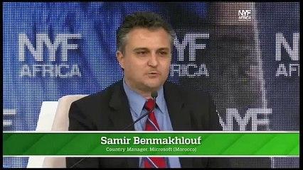 New York Forum Africa (4è partie): Samir Benmakhlouf Microsoft Maroc & Larbi Bencheikh OFPPT