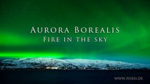Aurora Borealis Timelapse Fire in the Sky