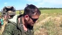 Pro-Russian Separatists Abused  Ukrainian soldiers
