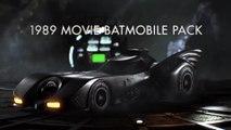 Batman Arkham Knight - 1989 Movie Batmobile Pack Trailer (August 2015 Update) | Official Batman Game