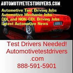 Test Driving Jobs In Merced CA | Autotestdrivers.com | 888-591-5901