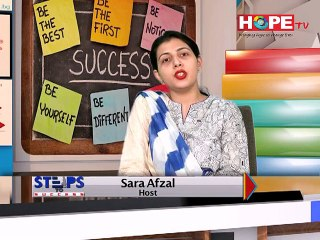 """Program # 06 (Part - 3) - """"How to Become a Star Performer at Work"""" - Hope TV"""